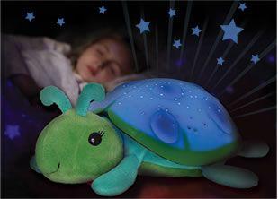 PILLOW PETS DREAM BABY NIGHT LIGHT TWILIGHT DOG CRIB NURSERY COMFORTING TOY