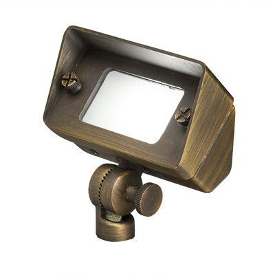 Kichler 1 Light Flood Light With Images Outdoor Flood Lights Flood Lights Flood Wall
