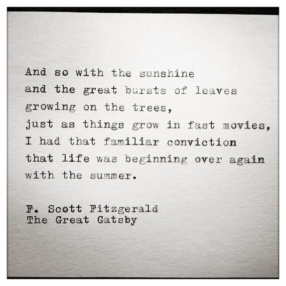 The Great Gatsby Love Quotes Quote From The Great Gatsby  Quotations To Live Pinterest
