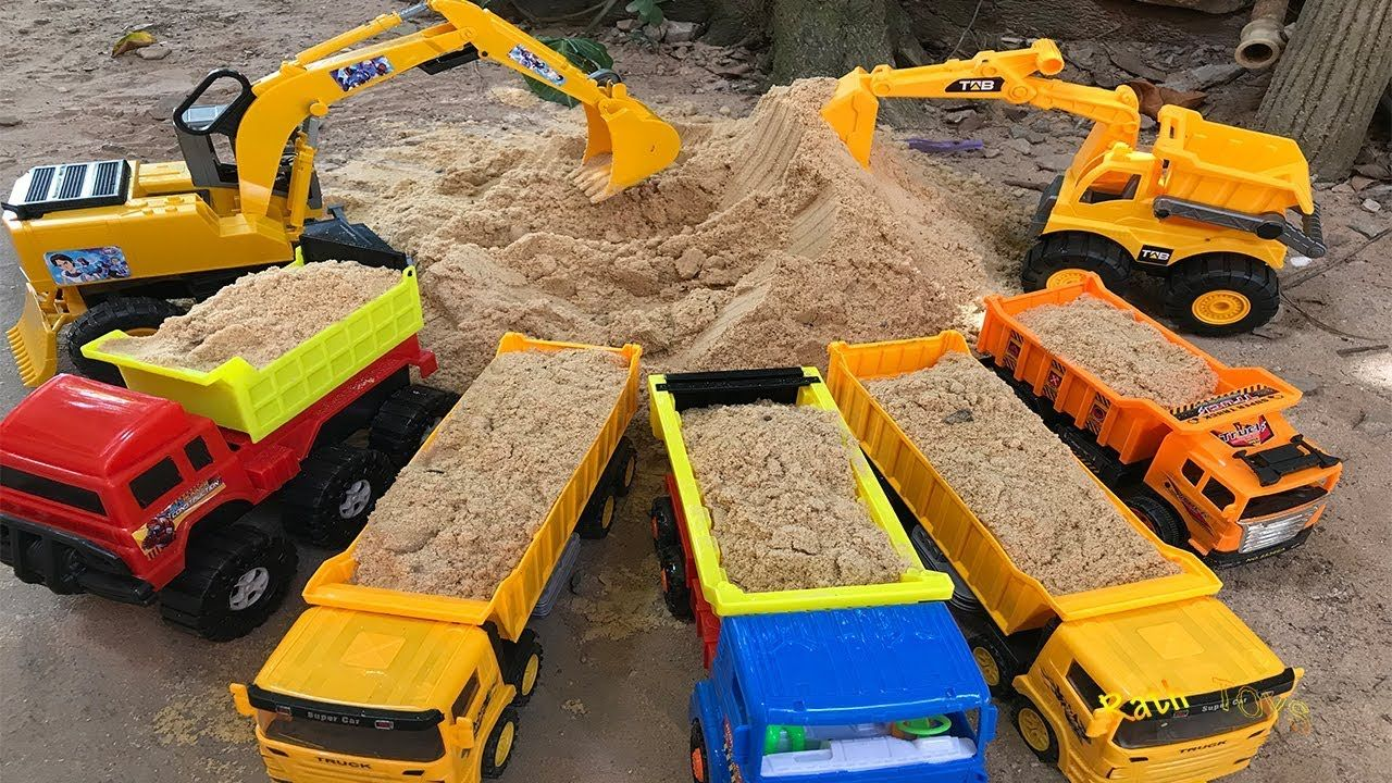 Excavator Dump Truck Vehicle Construction Toys Car For Kids Videos Toy Toy Cars For Kids Construction Toys Toys