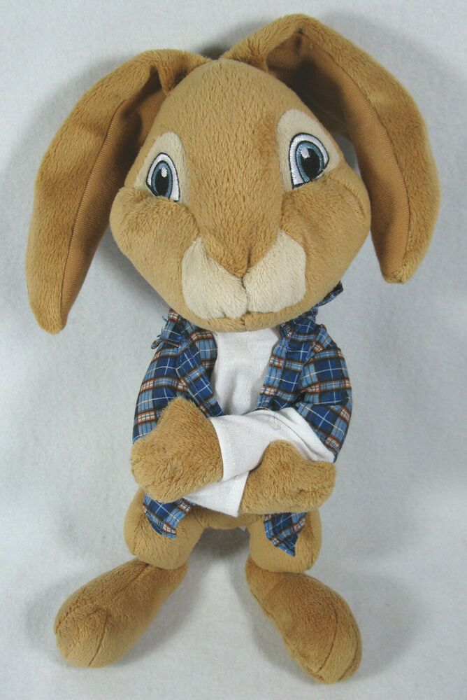 "Universal Studios HOP The Movie Plush 14"" EB Bunny Rabbit"