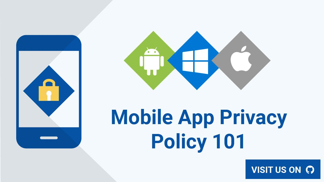 Learn About What A Privacy Policy Is Why And When It S Required And How To Easily Create One And Add It To Your Mobile App With Mobile App Privacy Policy App