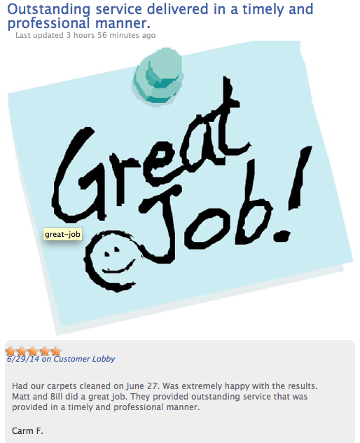 Another Great Review For Arslanian Bros.! Find a job