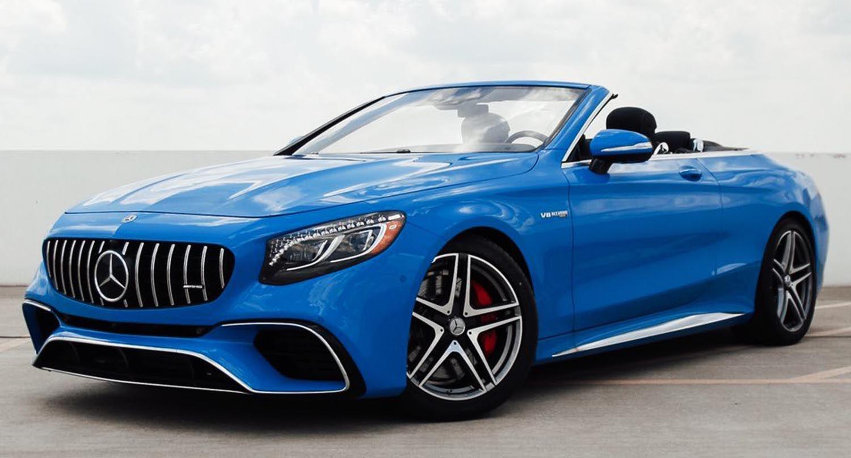 مرسيدس اي ام جي اس كلاس كابريوليه الجديدة قوة الأداء وسحر الهواء الطلق موقع ويلز Mercedes Benz Mercedes Amg Cabriolets