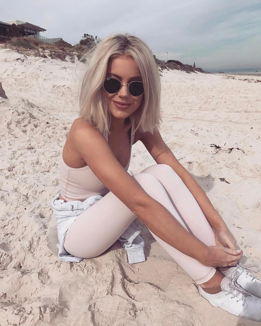 Summer Beach Styles Summer Beach Dresses For Girls Latest Beach Wear 20181108 Short Blonde Hair Hair Styles Short Hair Styles