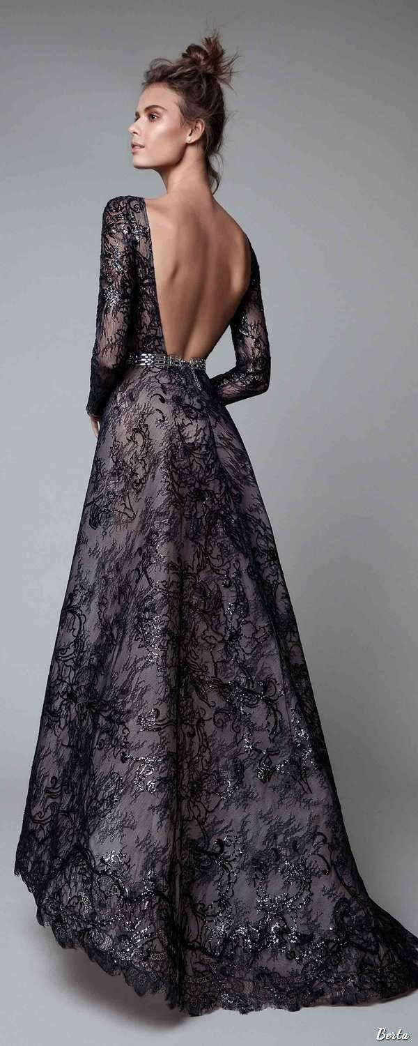 Berta evening dresses prom pearls and gowns