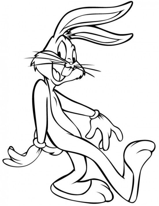 Bugs Bunny Coloring Pages Picture 2 550x711 picture
