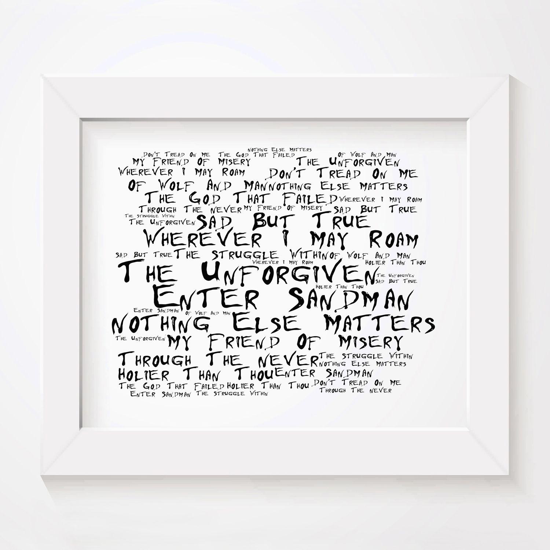 Muse Poster Print Lyrics Gift Signed Art Origin of Symmetry