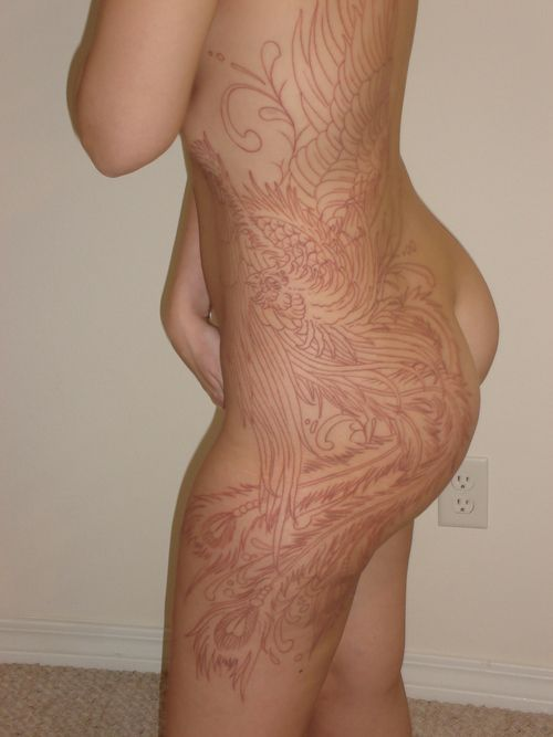 Flesh Coloured Tattoos : flesh, coloured, tattoos, White, Tattoo, Tumblr, Color, Tattoos,, Brown