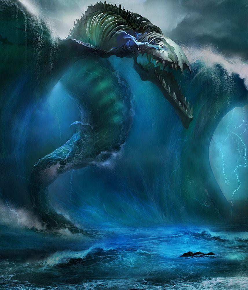 ♅Mythical Sea Creatu...