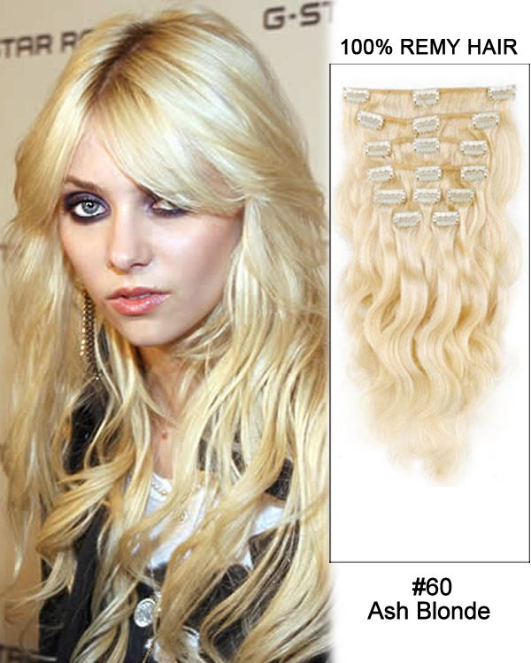 16 Inch 7pcs Body Wave Brazilian Clip In Remy Hair Extensions 60