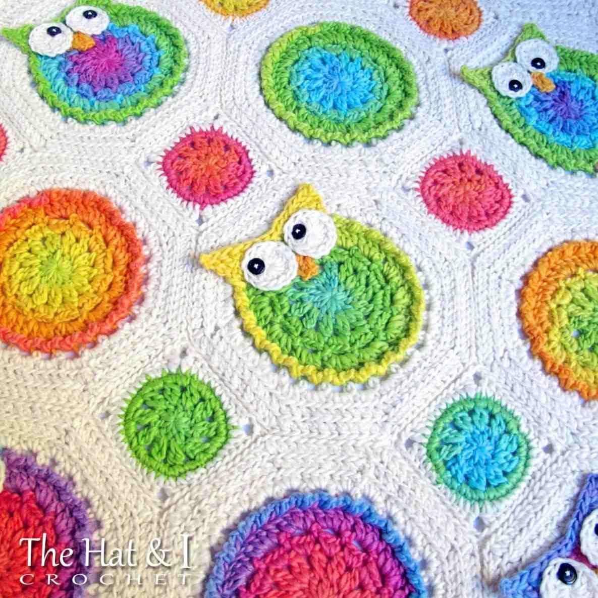 Crochet Owl Blanket Full Image For Baby Receiving Blankets Pattern