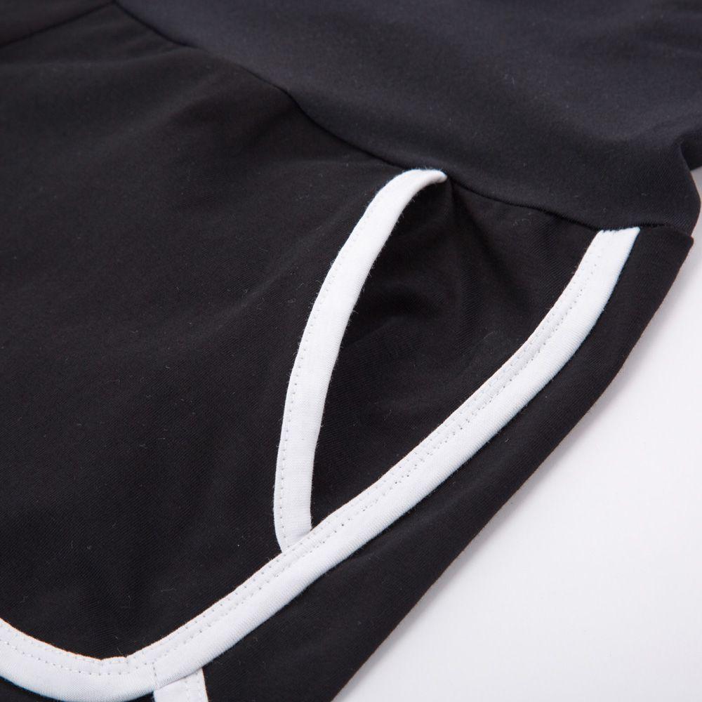 Maacie Maternity Shorts Full Panel Workout Shorts Double Layer Drawstring Waist