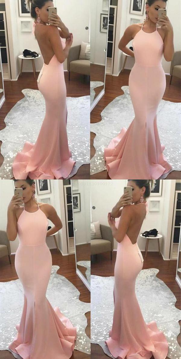 Hot Sale Distinct Prom Dresses 2019, Backless Prom Dresses