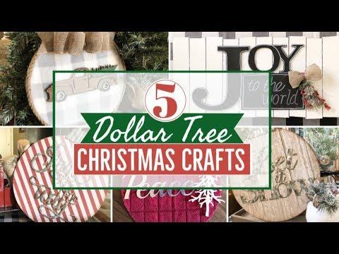 (27) DIY DOLLAR TREE CHRISTMAS 2019   CHRISTMAS DECOR - YouTube #dollartreecrafts