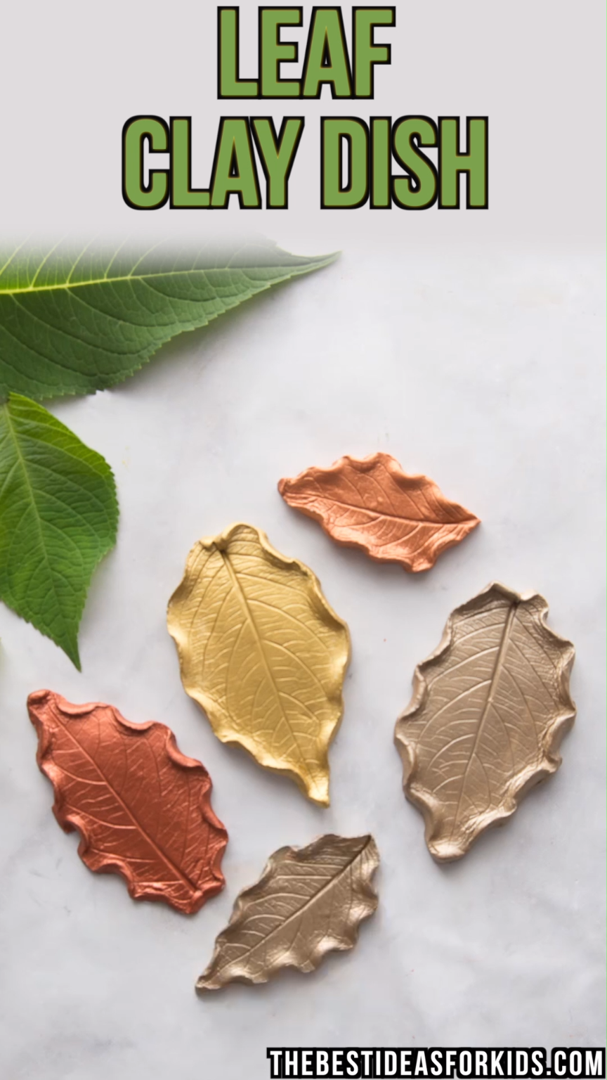 Leaf Clay Dish Leaf Clay Dish Diy Craft Videos diy craft projects videos