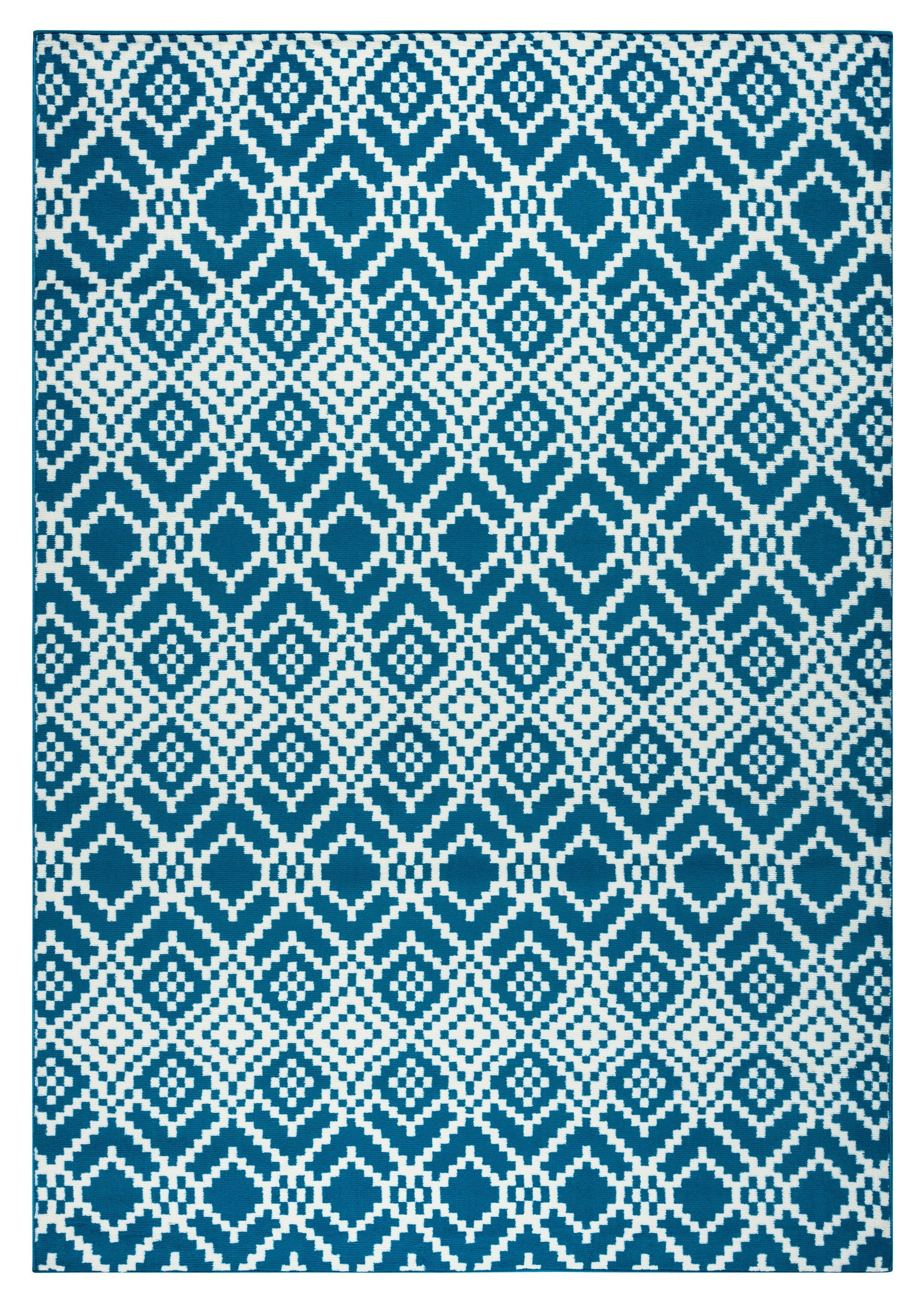 Rizzy Home Glendale Gd5921 Navy Pattern Area Rug