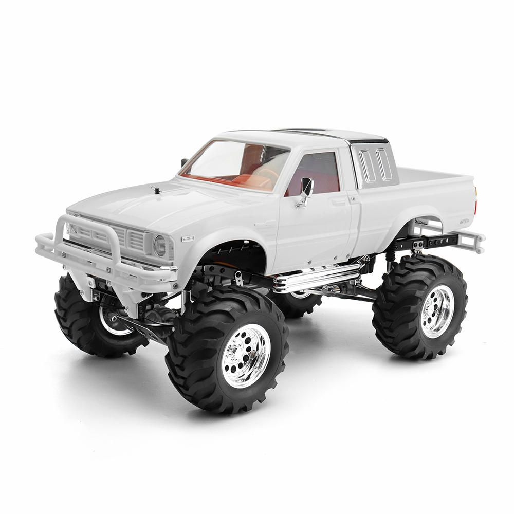 Hg P407a 1 10 2 4g 4wd Rc Car Kit For Toyato Metal 4x4 Pickup