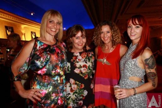 #Premiere of Coronation St on Stage, The Civic. L to R, Mel Homer, #Sonia Sutherland, Belinda Nash and #Rebecca Lee