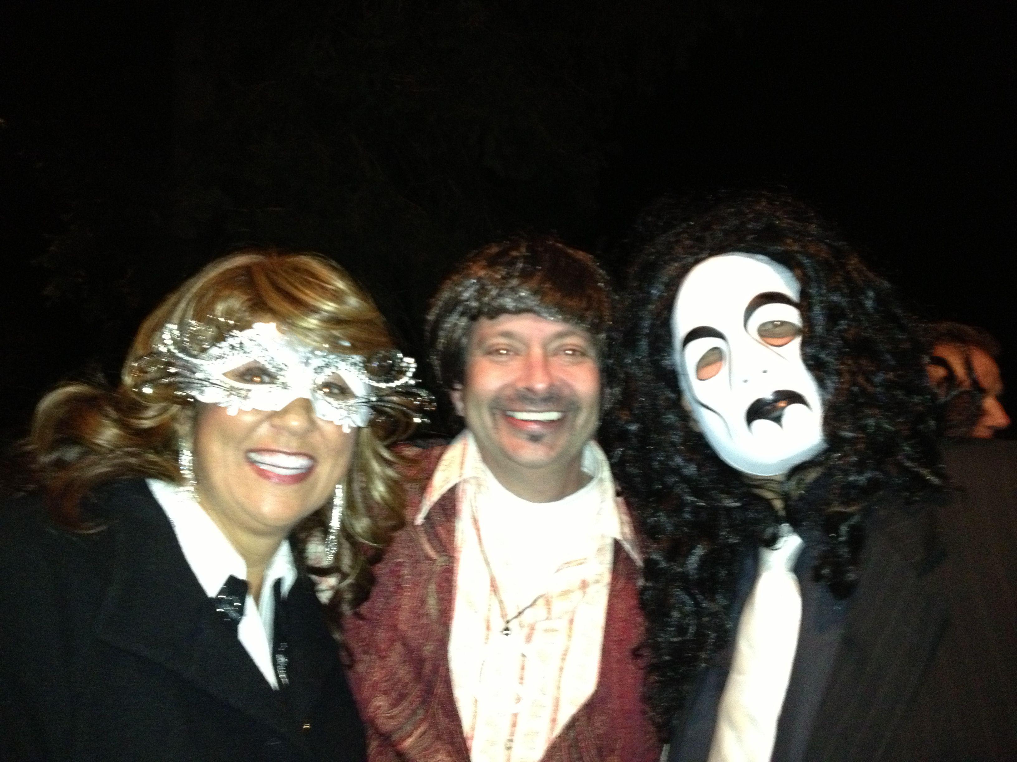 Sharon, Darren & Scott - Halloween 2013