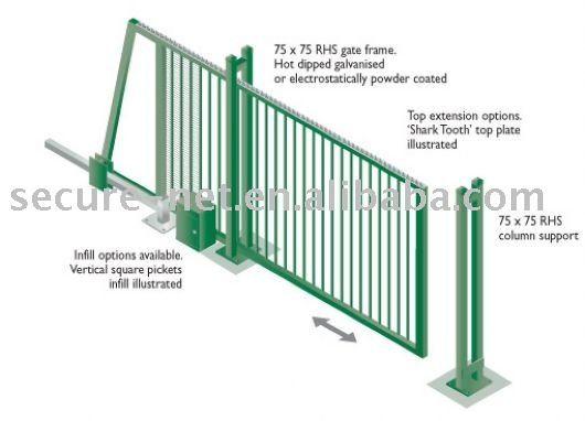 Sliding Gate Puertas Deslizables Puertas Correderas Portones Corredizos