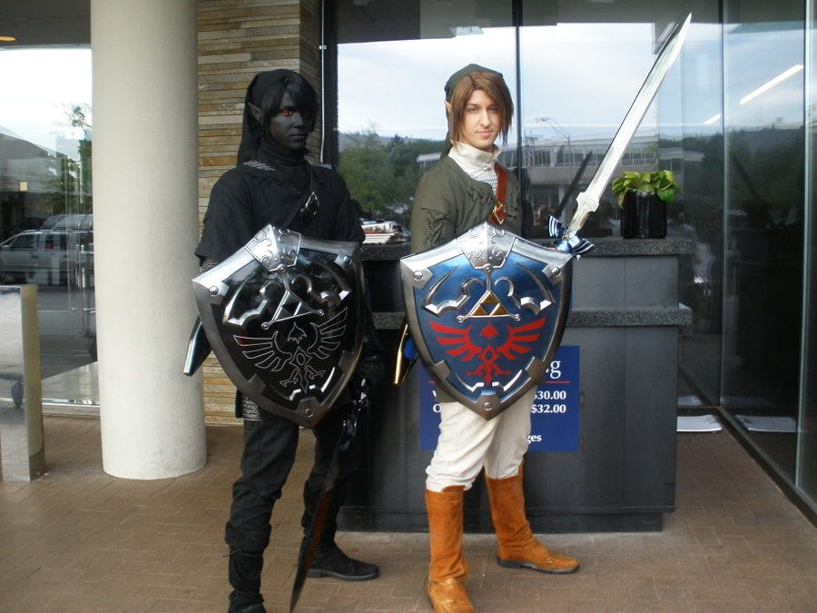 link and dark link cosplay  sc 1 st  Pinterest : dark link halloween costume  - Germanpascual.Com