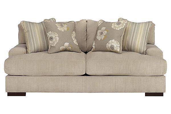 Pia   Linen Lawson Style Loose Backed Sofa By Signature Design By Ashley    Olindeu0027s Furniture   Sofa Baton Rouge And Lafayette, Louisiana