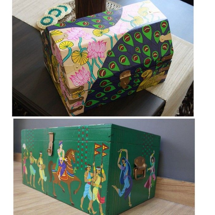 Unique Indian Wedding Invitation Boxes that WOW ! | Indian wedding ...