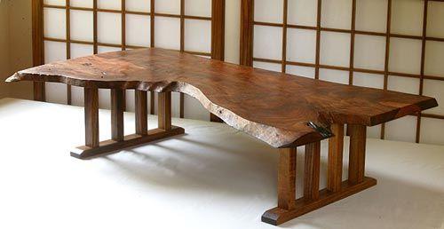 Kenji,Japanese wood work. Guess where to sit?