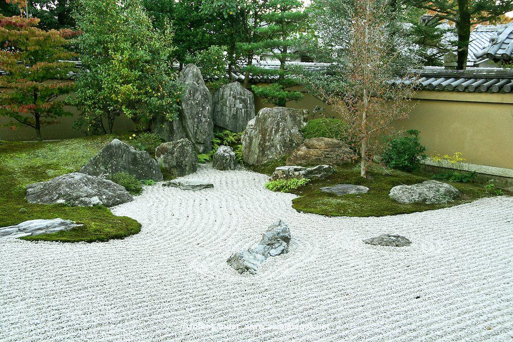 ... Marvelous Large Zen Garden #18   Hoshun In Zen Garden, Daitokuji  Temple, ...