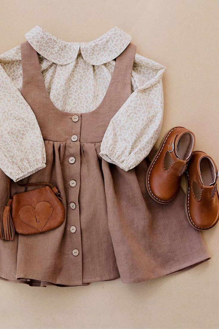 Sweet Autumn outfit for girls  Kids outfits, Baby girl clothes