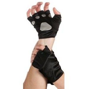 Rubieu0027s Costume Cat Paws Fingerless Gloves Black/Gray One Size  sc 1 st  Pinterest & Rubieu0027s Costume Cat Paws Fingerless Gloves Black/Gray One Size ...