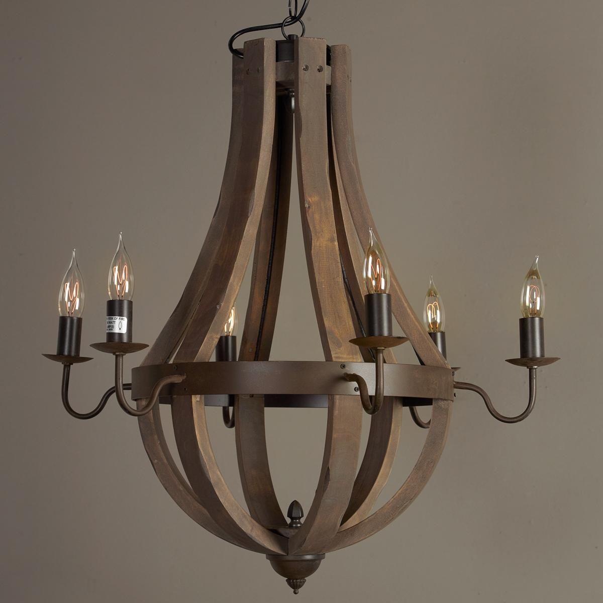 black item chandelier zoom tbwb lighting whiskey barrel textured ashwood craftmade