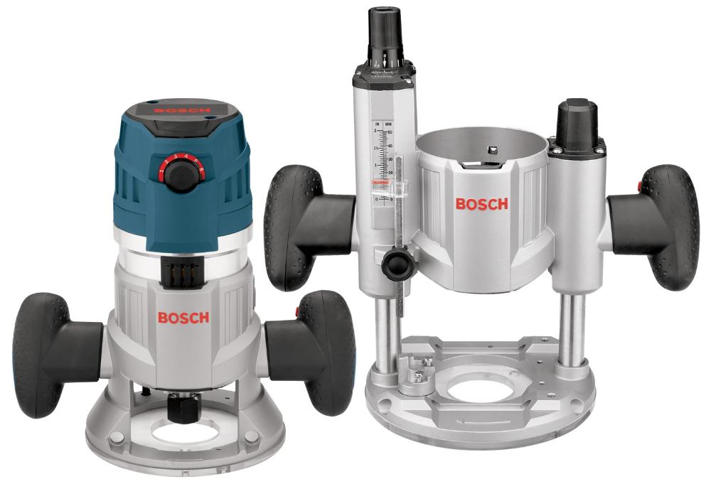 Bosch MRC23EVSK 2.3HP Electronic VS Modular Plunge & Fixed