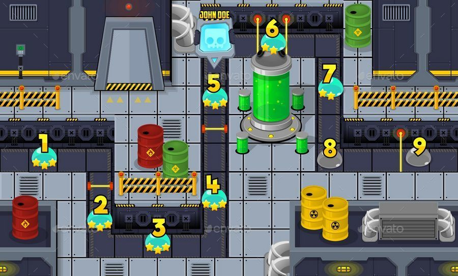 Game Level Map Pack 4 Ad Level, spon, Game, Pack,