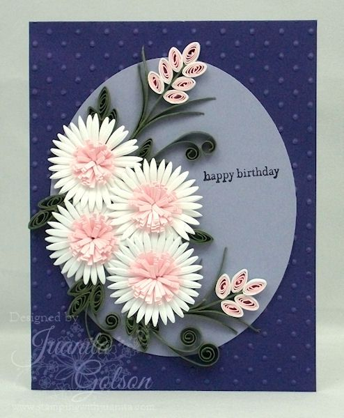 Paper Quilling Designs For Birthday Cards