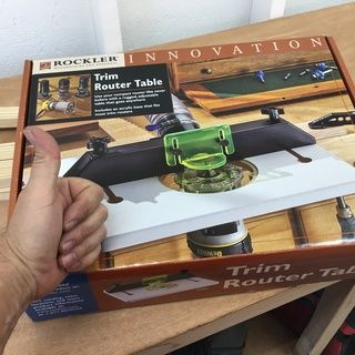 Rockler Trim Router Table (With images) | Router table ...