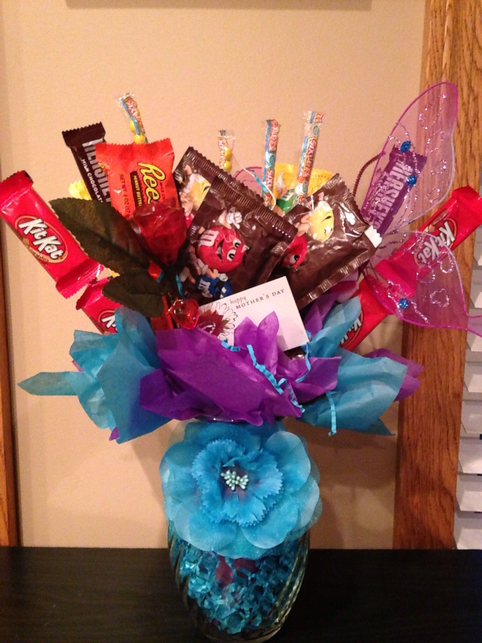 Happy mothers day candy arrangements happy mothers