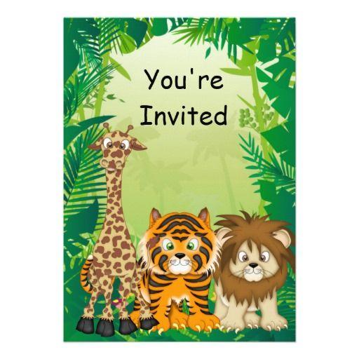 jungle theme birthday invitations vbs 2013 jungle jaunt