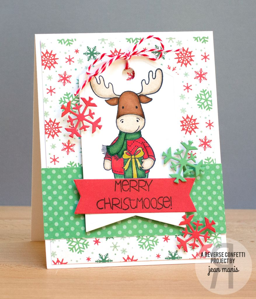 Card by Jean Manis. Reverse Confetti stamp set: Marley Moose ...