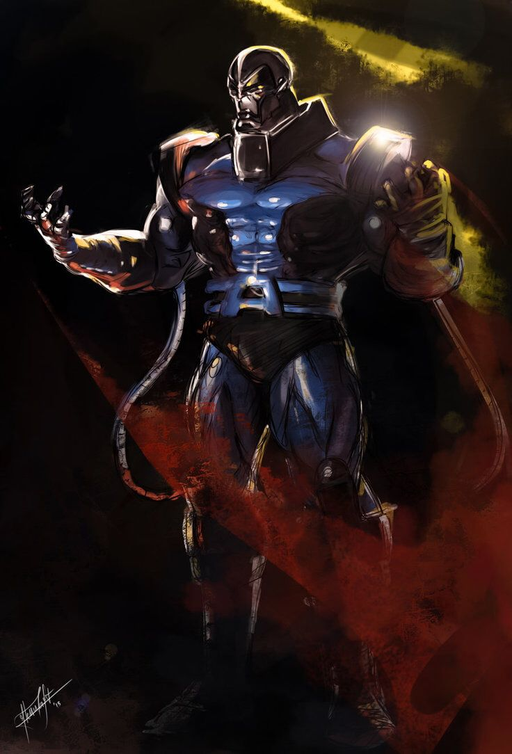 Apocalypse by GlennCroft on @DeviantArt | Marvel Villains ...