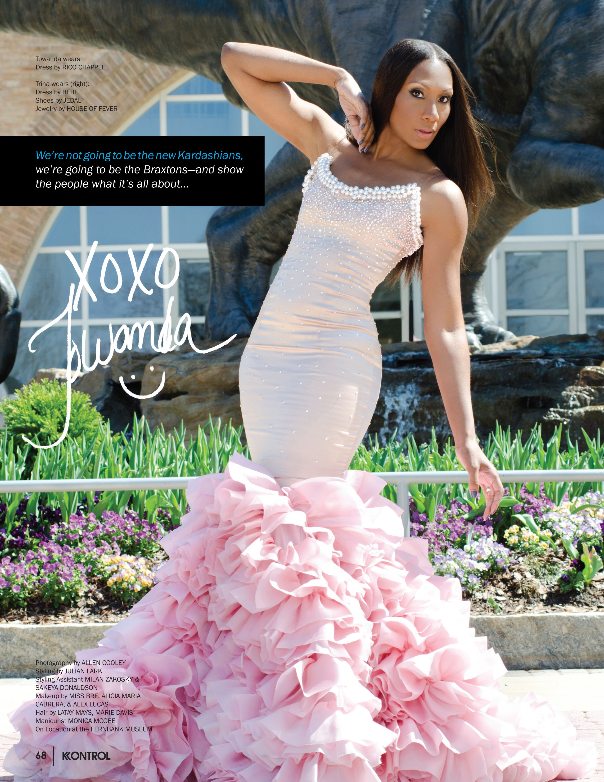 Another pink wedding dress by Reco Chapple. LOVE!!! | My Style ...