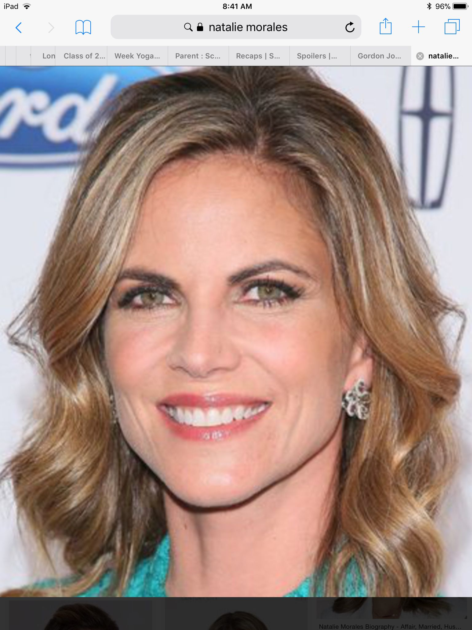 Pin by Daniele Worth-Ochoa on Hair | Natalie morales, Hair
