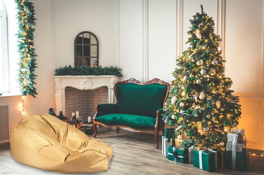 Gold Silber Rot Und Grün Sind Weihnachtsfarben Welche Farbe