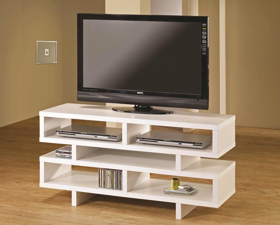 Likeness of Ikea White TV Stand: Sweet Couple for Minimalism ...