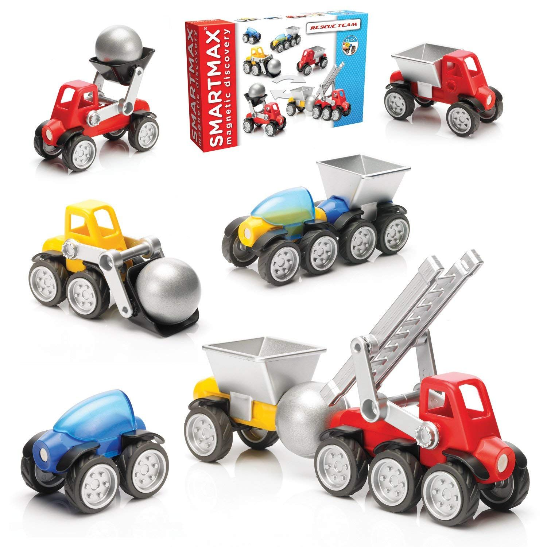 SmartMax Power Vehicles Rescue Team Toys