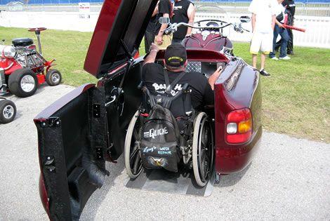 Boss Hoss Advantage Trike, the first wheelchair accessible trike ...