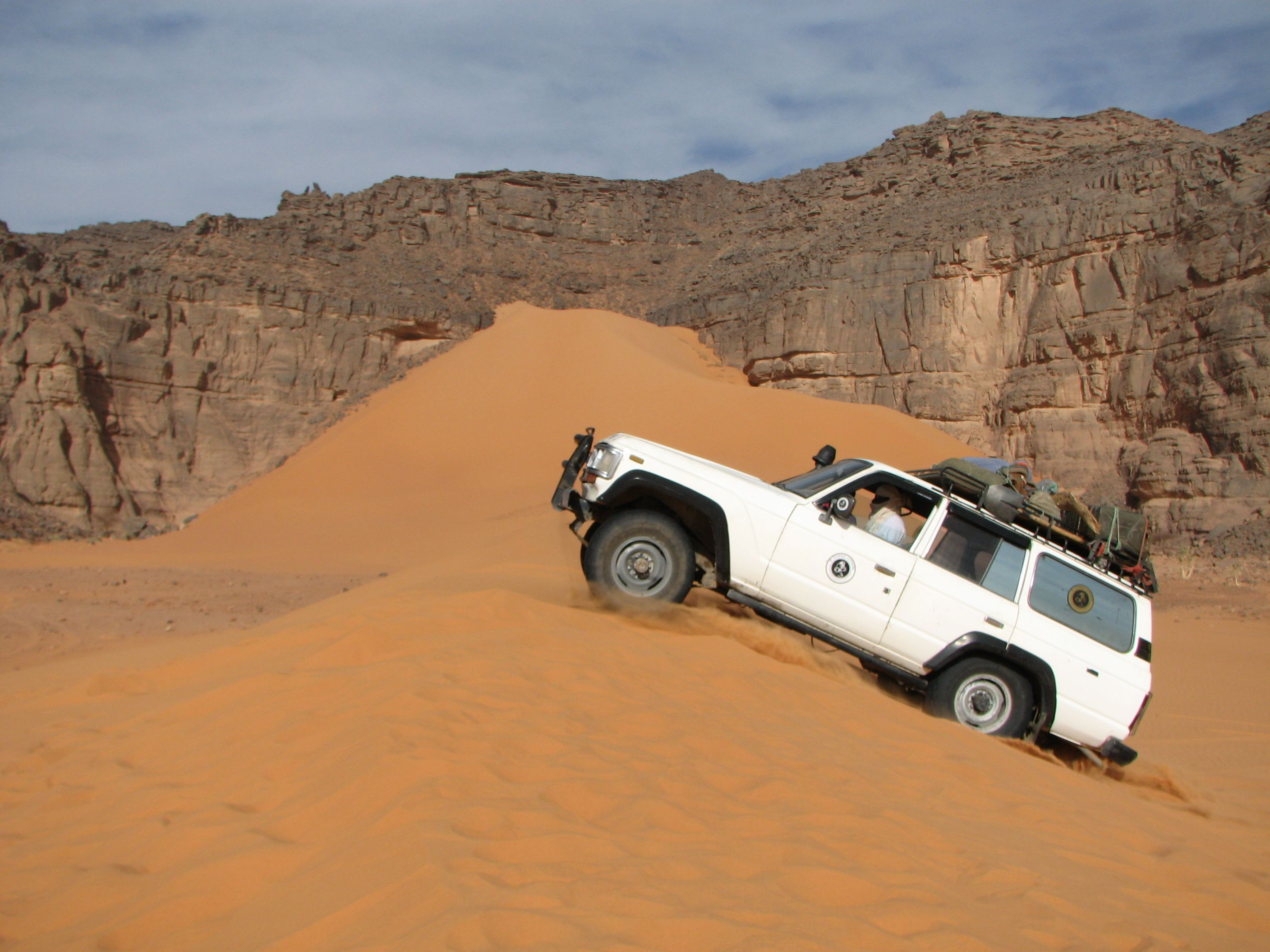 Djanet Algeria Here Starts The 4wd Exploration Of The Admer Tadrart Desert Where The Sahara Shows His Best Part