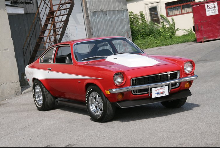 This is how my 73 Vega looked in my mind, like a mini