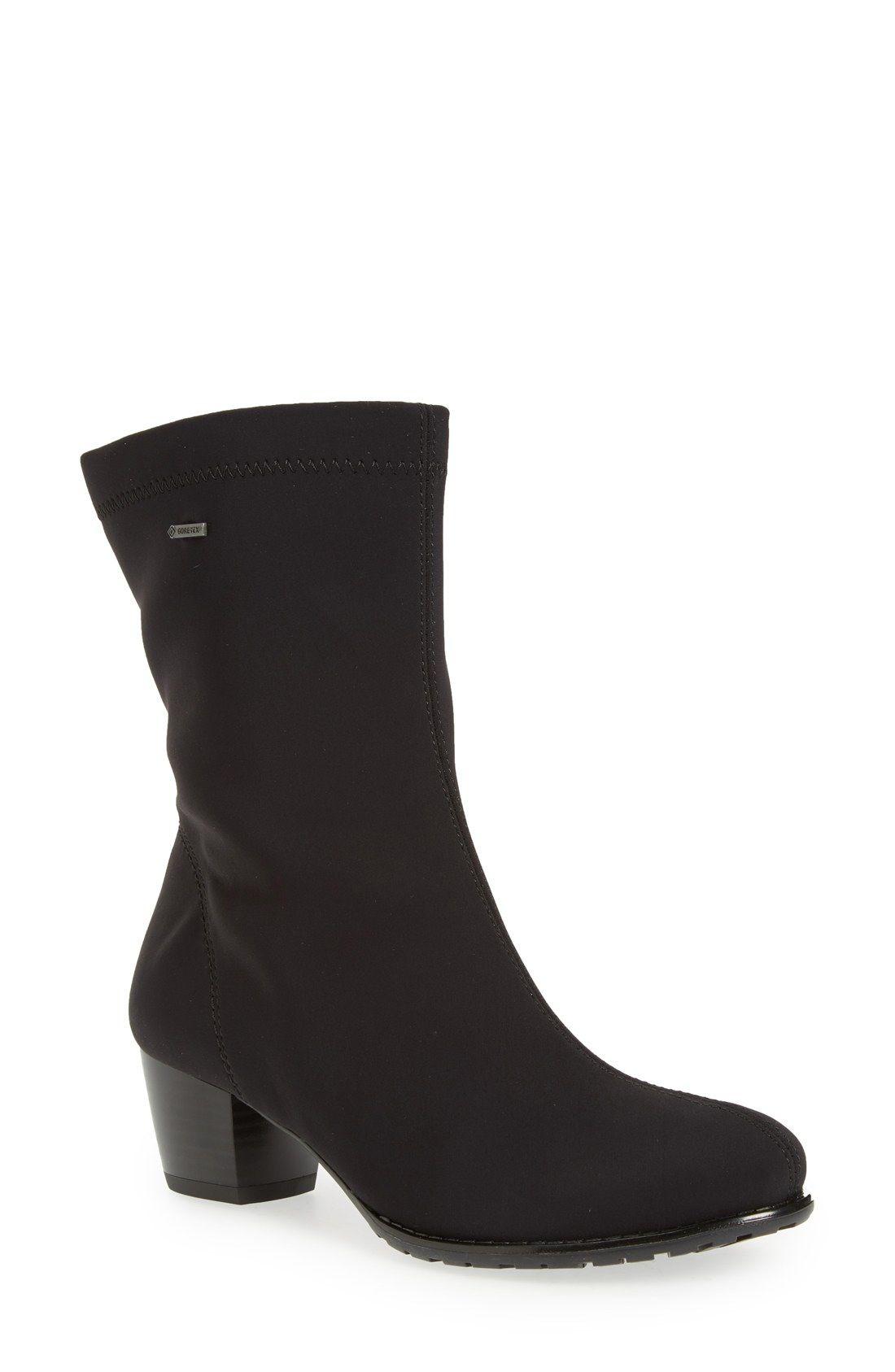 the best attitude f259e eab1a ara 'Fairfax' Waterproof Gore-Tex® Block Heel Boot (Women ...